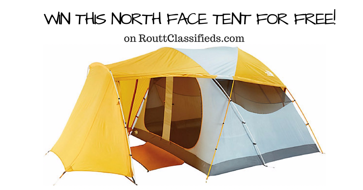 Routt Classifieds TNF Tent Giveaway