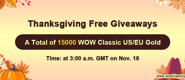 Free 15000 wow classic gold